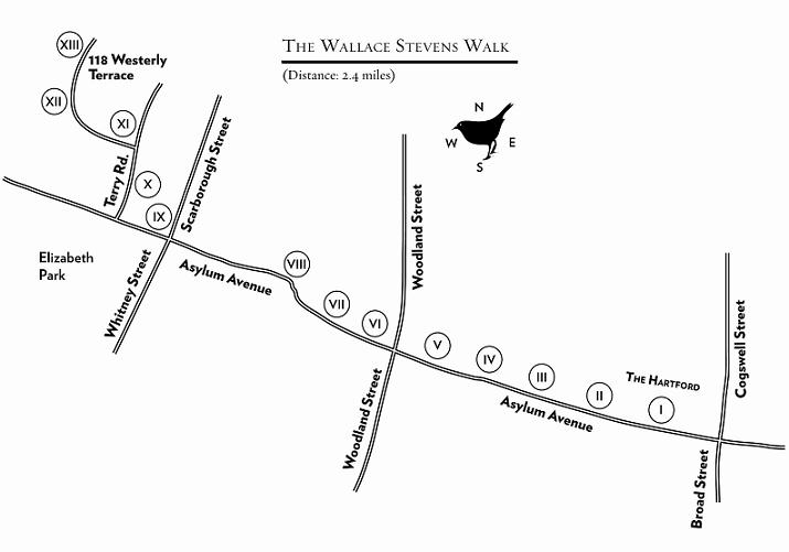 Friends enemies of wallace stevens walk for 118 westerly terrace hartford ct